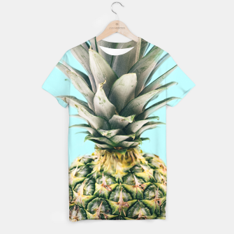 Tropical Pineapple T-shirt obraz miniatury