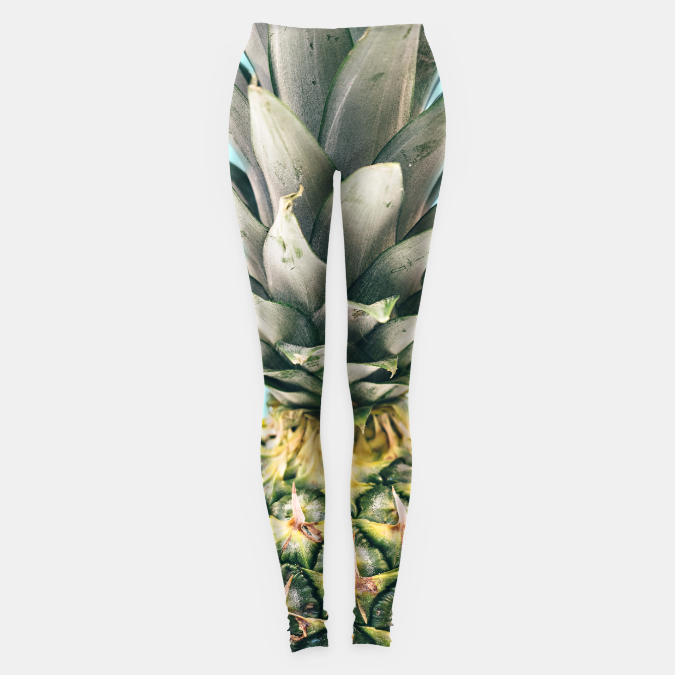 Zdjęcie Tropical Pineapple Leggings - Live Heroes
