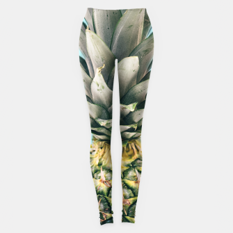 Miniaturka Tropical Pineapple Leggings, Live Heroes