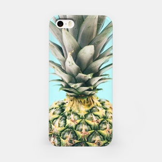 Tropical Pineapple iPhone Case obraz miniatury