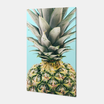 Tropical Pineapple Canvas obraz miniatury