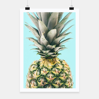 Tropical Pineapple Poster obraz miniatury