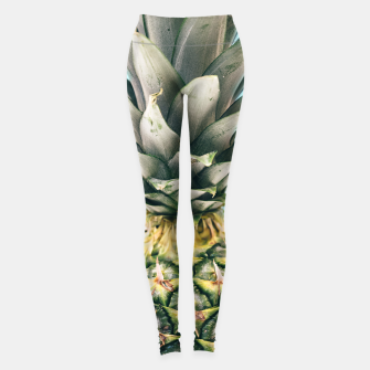 Tropical Pineapple Leggings obraz miniatury