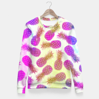 Thumbnail image of Pineapple feast I Fitted Waist Sweater, Live Heroes