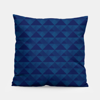 Miniaturka Blue geometric pattern Pillow, Live Heroes