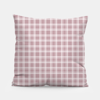 Miniaturka Beige checkered pattern Pillow, Live Heroes