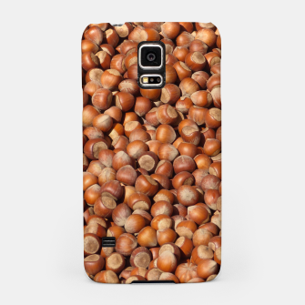 Thumbnail image of Brown Hazelnuts Pattern Samsung Case, Live Heroes