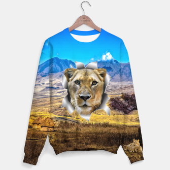 Thumbnail image of Lioness from Africa Sweater, Live Heroes