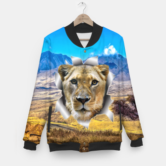 Thumbnail image of Lioness from Africa Baseball Jacket, Live Heroes