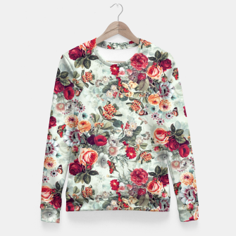 Thumbnail image of Summer Garden IV Fitted Waist Sweater, Live Heroes