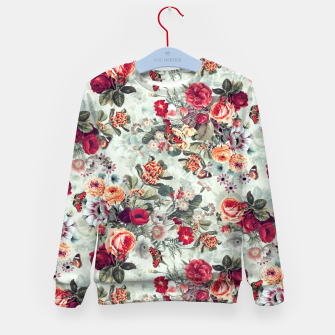 Thumbnail image of Summer Garden IV Kid's Sweater, Live Heroes