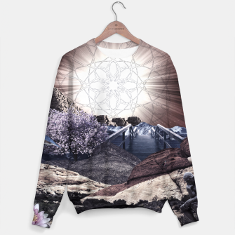 Thumbnail image of CREATURE OF THE UNIVERSE Sweater, Live Heroes