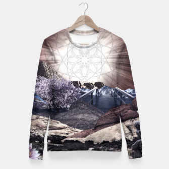 Thumbnail image of CREATURE OF THE UNIVERSE Fitted Waist Sweater, Live Heroes