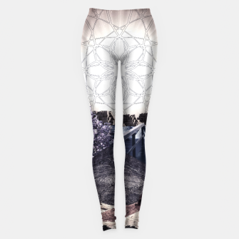 Thumbnail image of CREATURE OF THE UNIVERSE Leggings, Live Heroes
