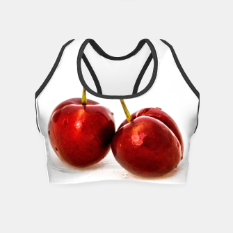 Thumbnail image of Cherries Crop Top, Live Heroes