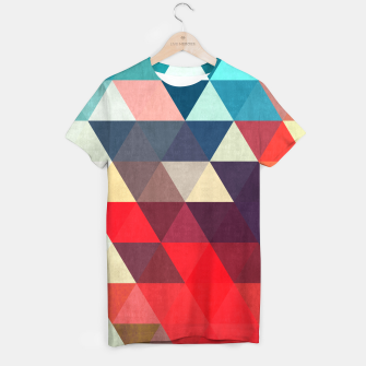 Thumbnail image of Modern abstract painting T-shirt, Live Heroes
