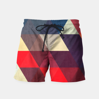 Thumbnail image of Modern abstract painting Swim Shorts, Live Heroes