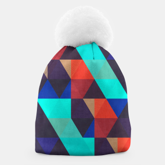 Thumbnail image of Modern abstract painting Beanie, Live Heroes