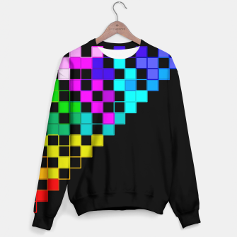 Thumbnail image of square art Sweater, Live Heroes