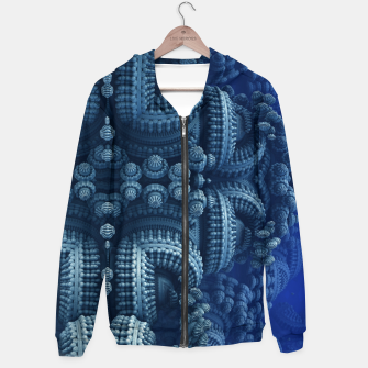 Thumbnail image of blue rings Hoodie, Live Heroes