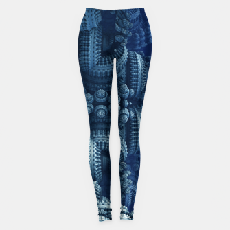 Thumbnail image of blue rings Leggings, Live Heroes