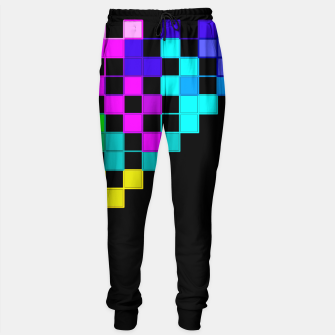 Thumbnail image of square art Sweatpants, Live Heroes
