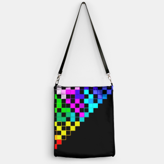 Thumbnail image of square art Handbag, Live Heroes