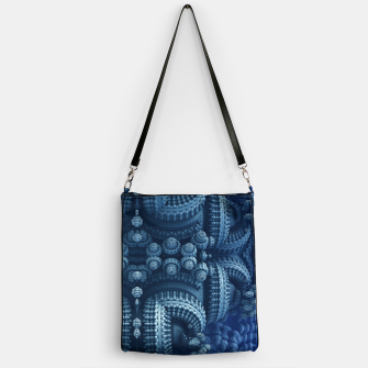 Thumbnail image of blue rings Handbag, Live Heroes