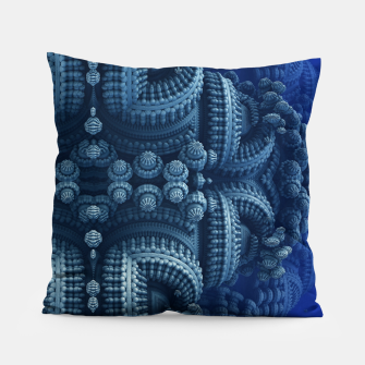 blue rings Pillow thumbnail image