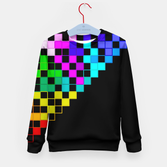 Thumbnail image of square art Kid's Sweater, Live Heroes
