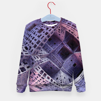Thumbnail image of masonry Kid's Sweater, Live Heroes