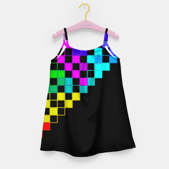 square art Girl's Dress thumbnail image