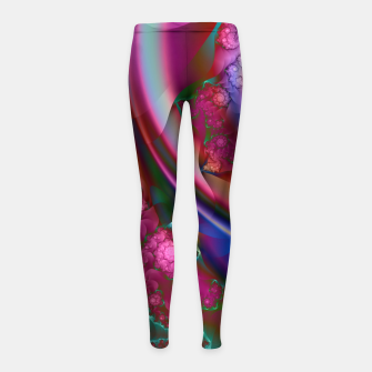 Thumbnail image of wild Girl's Leggings, Live Heroes