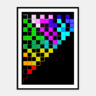 square art Framed poster thumbnail image