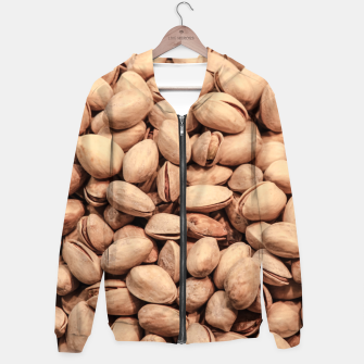 Thumbnail image of Pistachio Nut Pattern Hoodie, Live Heroes