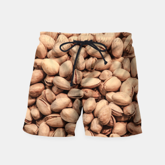 Thumbnail image of Pistachio Nut Pattern Swim Shorts, Live Heroes