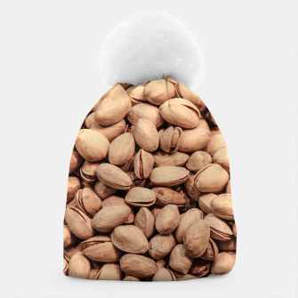Thumbnail image of Pistachio Nut Pattern Beanie, Live Heroes