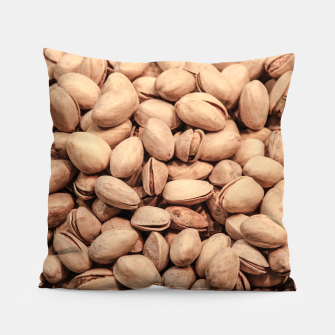 Thumbnail image of Pistachio Nut Pattern Pillow, Live Heroes