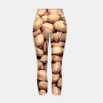 Thumbnail image of Pistachio Nut Pattern Yoga Pants, Live Heroes