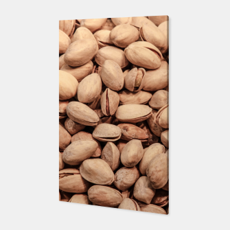 Thumbnail image of Pistachio Nut Pattern Canvas, Live Heroes