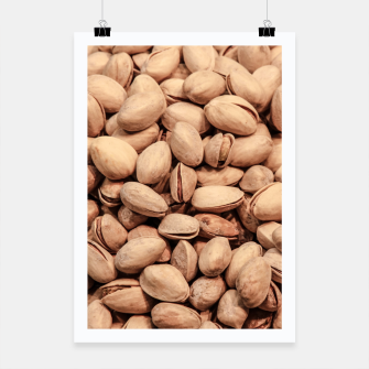 Thumbnail image of Pistachio Nut Pattern Poster, Live Heroes