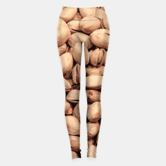 Thumbnail image of Pistachio Nut Pattern Leggings, Live Heroes