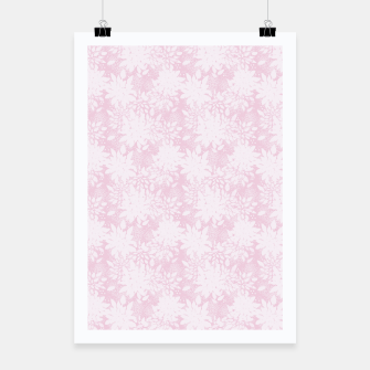 Miniaturka Abstract simple floral print Poster, Live Heroes