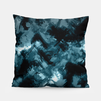 Miniaturka Abstract grunge print Pillow, Live Heroes
