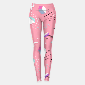 Thumbnail image of Memphis Pattern 6 Leggings, Live Heroes