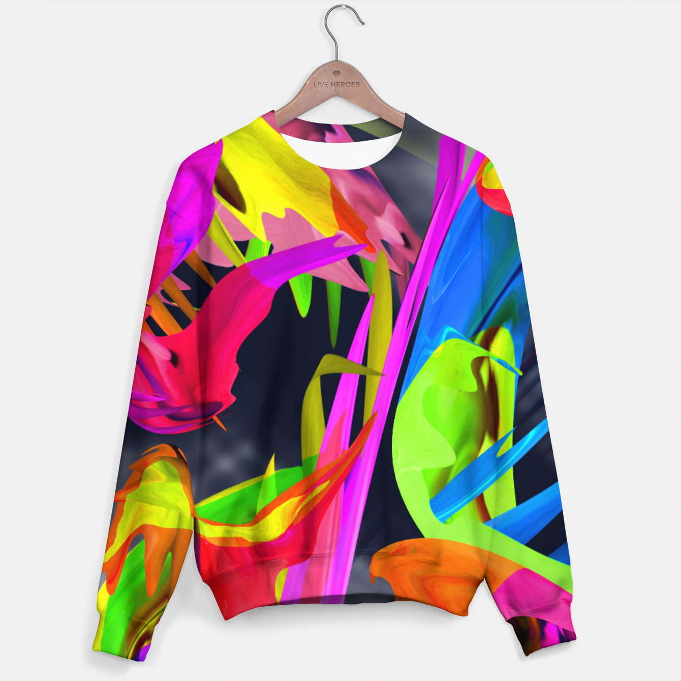 Image of Courage Sweater - Live Heroes