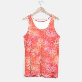 Miniaturka Abstract simple floral print Tank Top, Live Heroes