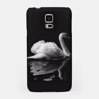 Thumbnail image of That Beauty: Black and White Swan Photography Samsung Case, Live Heroes