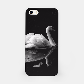 Thumbnail image of That Beauty: Black and White Swan Photography iPhone Case, Live Heroes