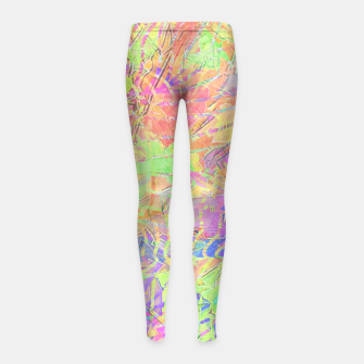Thumbnail image of btfclrs001 Girl's Leggings, Live Heroes
